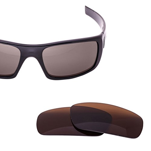 Oakley Crankshaft Lens Replacement - Brown Polarized Lenses