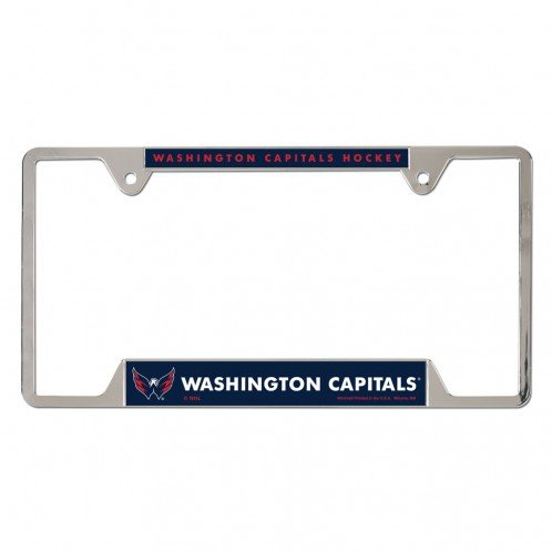 NHL Washington Capitals Metal License Plate Frame