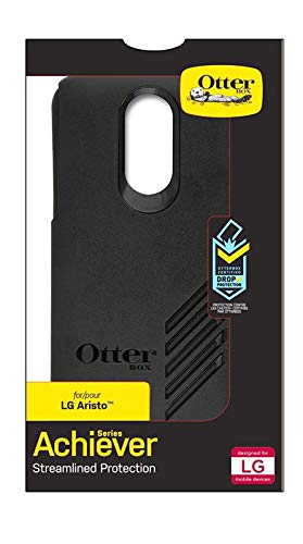 new product ee9d3 a8a50 OtterBox ACHIEVER SERIES Case for LG Aristo - Retail Packaging - BLACK