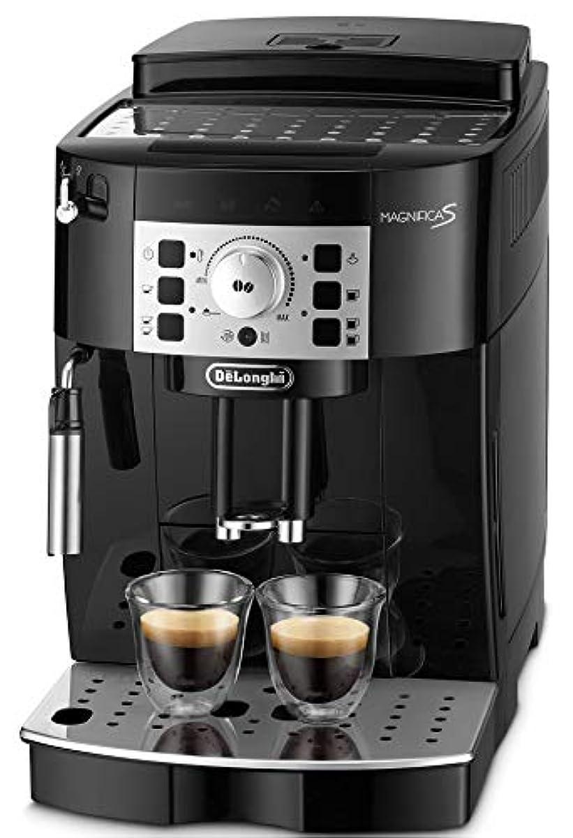 [해외] 【NEW엔트리 모델】드롱기(De'Longhi)(DELONGHI) 전자동 커피 메이커 머그니후카S 밀크 거품이 일어라:수동 블랙 ECAM22112B
