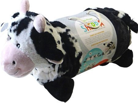 Little Miracles Baby Blanket & Plush Cow Snuggle Me Sherpa Cow Blanket