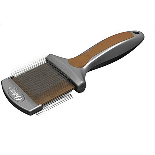 Oster Premium Flexible Slicker Brush (S) (Brown)