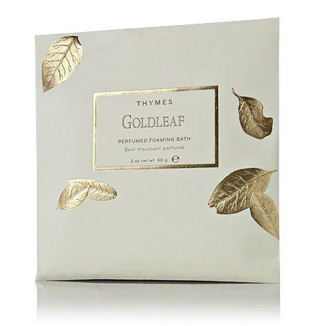 Thymes Goldleaf Foaming Bath Envelope - Natural Body ()