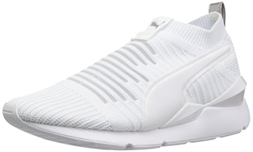 PUMA Women Muse Slip on Wn Sneaker Puma White-puma White