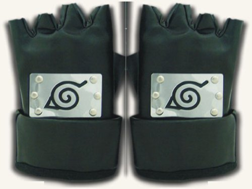 TOMSUIT Naruto Ninja Leaf Village Gloves