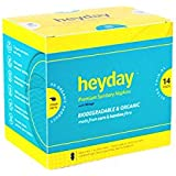 HEYDAY Ultra Thin Xl 14 Pack Premium Biodegradable Sanitary Napkin