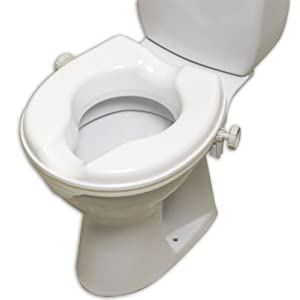 NRS Healthcare Linton Plus Raised Toilet Seat, 2 Inches Height (Eligible for VAT Relief in The UK) 17