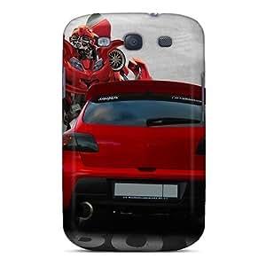 SZziB3696chaUH Case Cover, Fashionable Galaxy S3 Case - Transformers Mazda Bumblebee