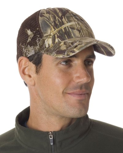 Dri Duck 3200 Fashion Hat - Camo Mesh Mallard/Camo - One