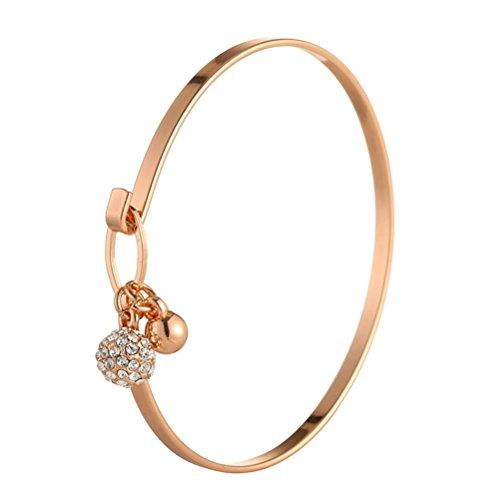 9de94bfb5ab1 Delicada pulsera con cuentas de cristal para pulsera de Bell encanto pulsera  regalo del día de