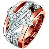 Pierre Cardin Damen-Ring Grand Coeur Sterling-Silber 925