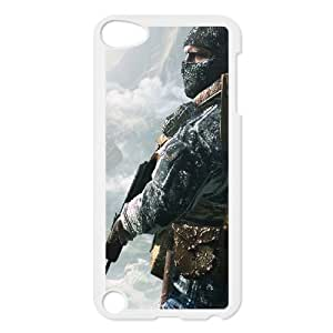 TOSOUL Customized Print Call Of Duty Pattern Hard Case for iPod Touch 5