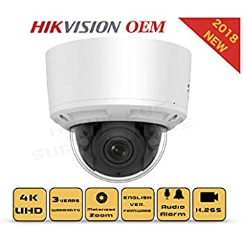 Amazon.com: Hikvision CM DS-2CD2785FWD-IZS DM IP67 8 MP 2,8 ...