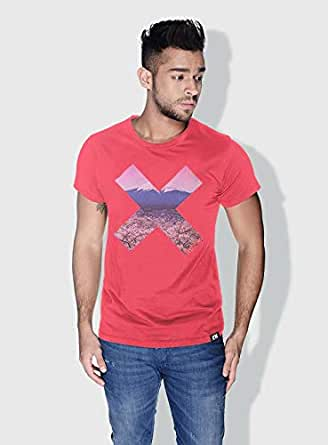 Creo Tokyo X City Love T-Shirts For Men - S, Pink
