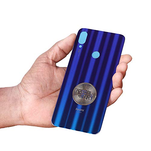 ZeroOneCraft Satyamev Jayete Ashok Stambh Golden Metal 3D Sticker for Mobile Phone Laptop Tablet PC (Pack of 2)
