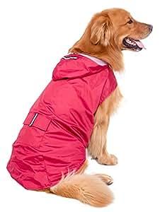 BPS® Chubasqueros Impermeables para Mascotas Perros