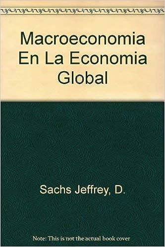 Amazon.com: Macroeconomia En La Economia Global (Spanish ...