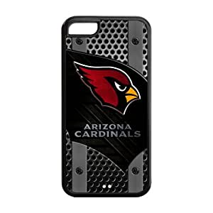 Cyber Monday Store Customize Arizona Cardinals Rubber iPhone 5C Back Cover Case