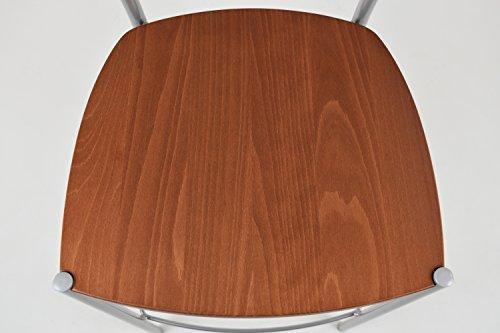 Tommychairs set 2 sgabelli moderni e design elegance per cucina e