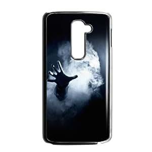 LG G2 Cell Phone Case Black Hand From Smoke Dark OJ581024
