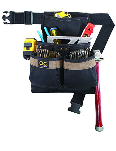 6e9241b213fb CLC Custom Leathercraft PK1836 Framer s Nail and Tool Bag with Poly Web Belt