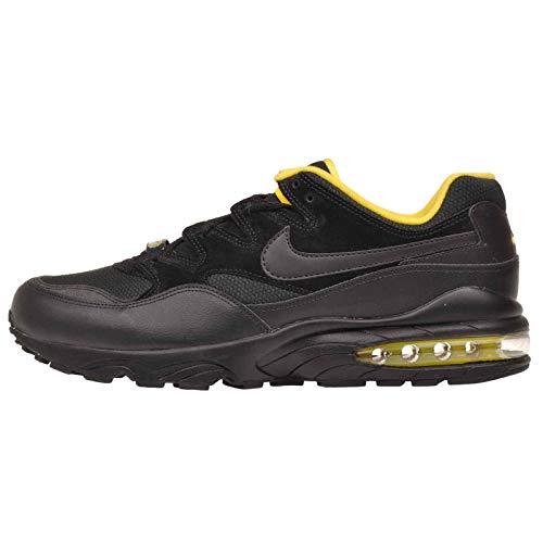 Nike Air Max 94 SE Men's Running Shoe Sneakers AV8197 002 (10.5 D(M) US), Black Black Tour Yellow Air Zoom Tour Shoes
