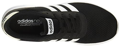 adidas Lite Racer, Scarpe Running Uomo Nero (Core Black/Footwear White/Footwear White)
