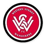"""Western Sydney Wanderers FC - Australia Football Soccer Futbol - Car Sticker - 4"""""""