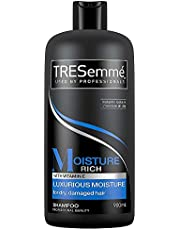 TRESemmé Shampoo Moisture Rich Vitamin E Luxurious Moisture, 900ml (Packaging May Vary)