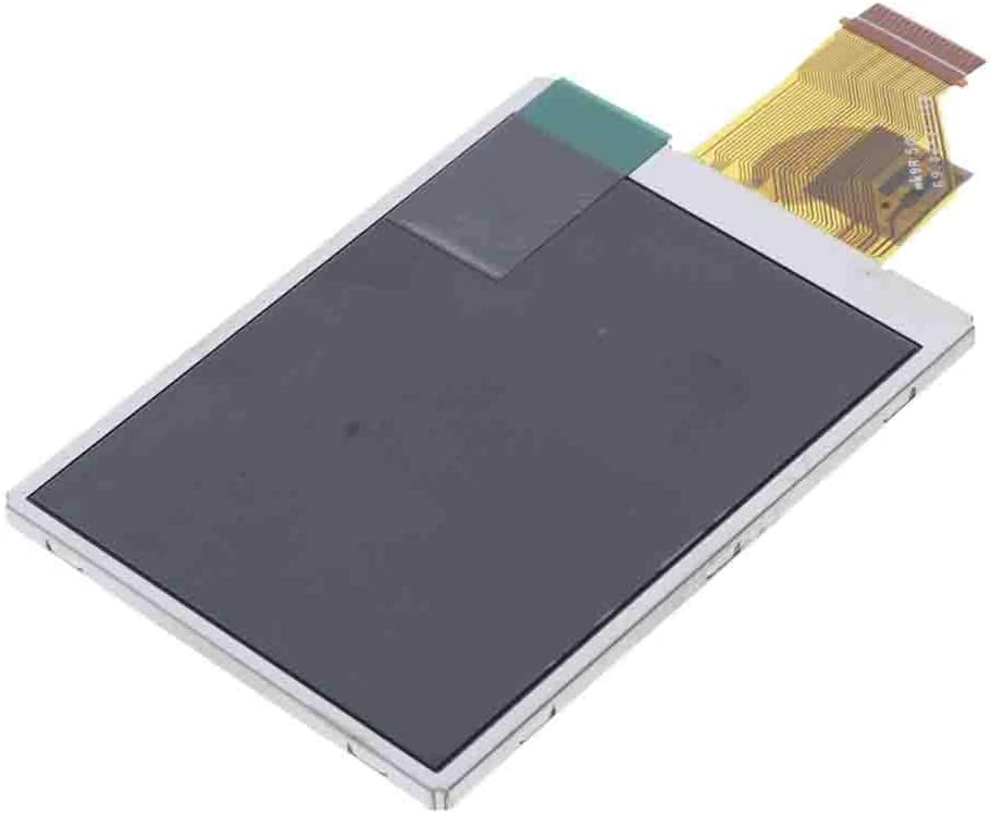 Almencla LCD Display and Touch Screen Digitizer Repair for Samsung ST60 Digital Camera Black