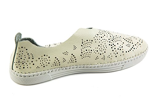 Da Bernie Pantofole Bianco Comfort Mev Donna y0YwqawC