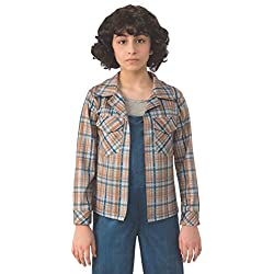 Rubie's Costume Co Kids Eleven's Plaid Shirt Costume, Standard