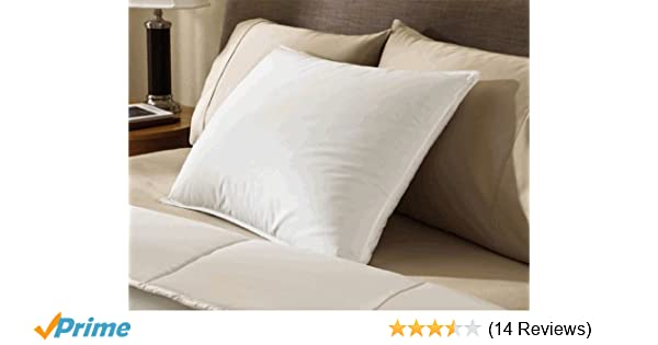 c9c0682543333 Amazon.com: Encompass Group ® 50/50 White Duck Feather and Down Pillow -  Queen Size: Home & Kitchen