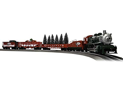 Lionel The Christmas Express, Electric O Gauge Model Train Set w/ Remote and Bluetooth Capability from Lionel