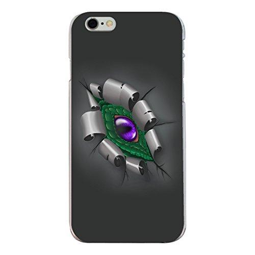 "Disagu Design Case Schutzhülle für Apple iPhone 6s Hülle Cover - Motiv ""Drachenauge -Grün"""
