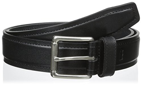 "Levi's Men's 1.3"" Wide Black Belt with Roller Buckle"