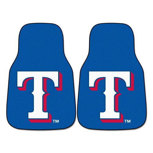 Texas Rangers Floor - Fanmats MLB Texas Rangers Nylon Face Carpet Car Mat