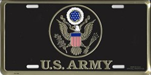 U.S. Army Insignia License Plate