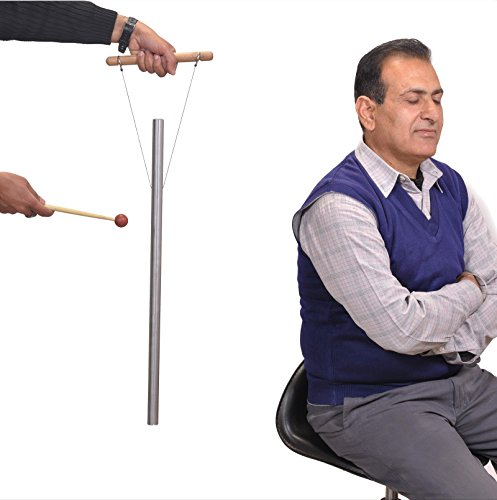 Os Pipe Tuned (528 Hz Healing Tuned Pipe louder than tuning fork with mallet,hand stand & Free shipping)