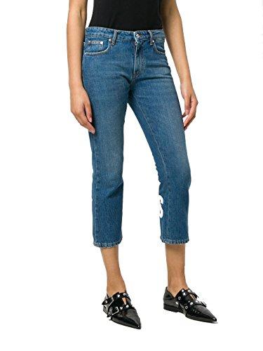Cotone 2441mdp47lx18429288 Donna Jeans Blu Msgm qxa5wR0