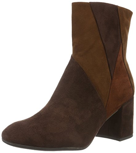 WoMen Boots 25060 Comb Cafe Marco Ankle Tozzi 385 Brown gx75qB