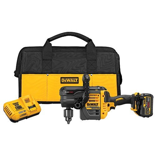 DEWALT FLEXVOLT 60-Volt MAX Lithium-Ion Cordless Brushless 1/2 in. Stud and Joist Drill with Battery 2Ah, Charger and -