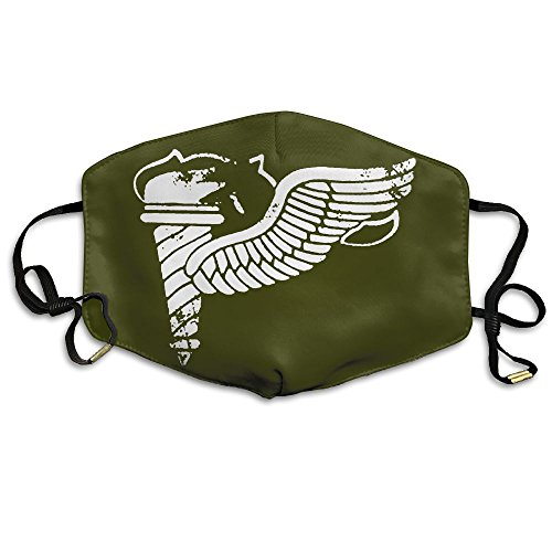 Vintage Army Pathfinder Badge Subdued Veteran Anti Dust Pollution Mouth Masks Breathable Mouth Cover Mask Face Mouth Mask