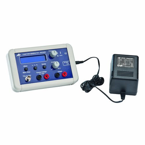 3B Scientific Power Function Generator, 115V, 50/60Hz, 170mm Length x 40mm Width x 105mm Height by 3B Scientific