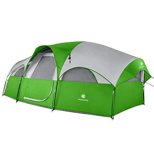 TOMOUNT 8-Person Tent - Easy & Quick Setup Camping Tent, Professional Waterproof & Windproof Fabric,...