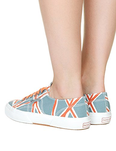 Superga Women's Fanlinu Zazie Woman's Two-Colored Sneakers In Size 41 Multicolour