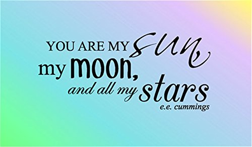 You Are My Sun My Moon And All