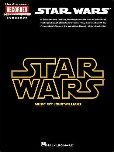 star wars hal leonard recorder songbook