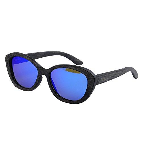 de al sol frescos TAC pesca lente conduce Retro Gafas Gafas del hechos marco que hombres de la madera de polarizados a Ojos sol del play la de libre de los Protección ULTRAVIOLETA mano de aire vintage 5wAOOUqC