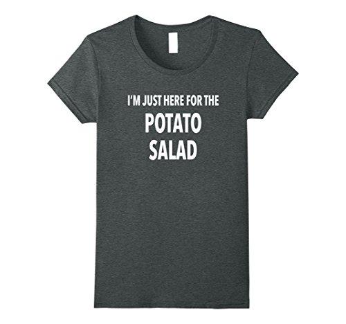 Womens Funny Potato Salad Gift T Shirt Medium Dark Heather